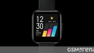 صورة أعلنت Realme Watch: شاشة ملونة تعمل باللمس 1.4 بوصة وشاشة SpO2 وعمر بطارية 9 أيام