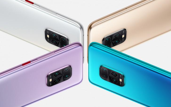 سلسلة Redmi 10X رسمية مع دعم شريحة SIM المزدوجة 5G وشرائح الأبعاد 800 وأسعار المساومة