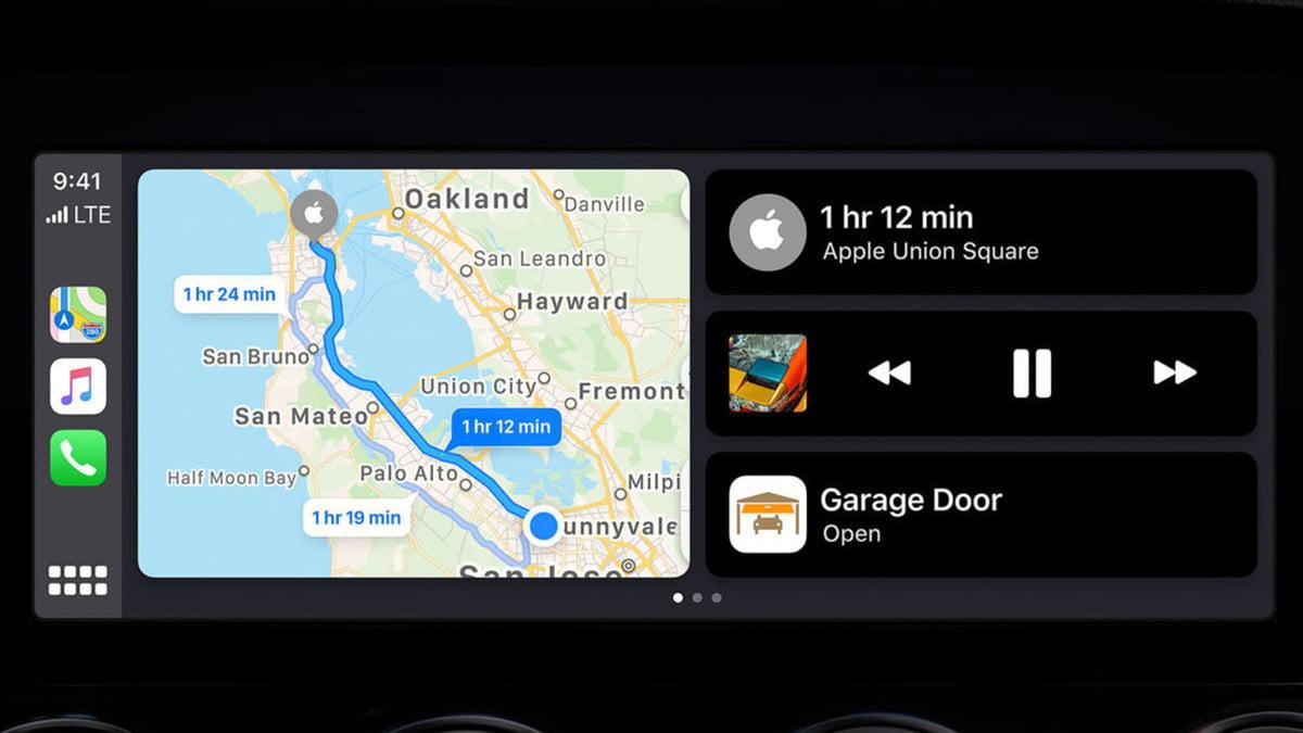 لوحة تحكم Apple CarPlay