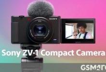 صورة تطلق سوني كاميرا ZV-1 صغيرة الحجم لمنشئي المحتوى ومدونات الفيديو