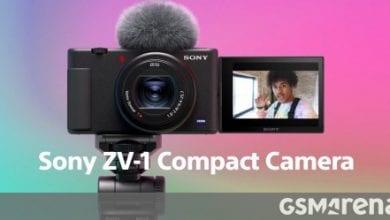 Photo of تطلق سوني كاميرا ZV-1 صغيرة الحجم لمنشئي المحتوى ومدونات الفيديو