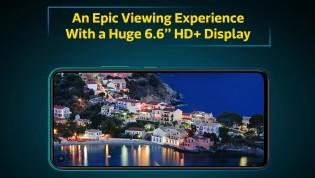 6.6 بوصة IPS LCD بدقة 720p +