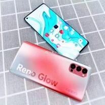 هواتف Oppo Reno4 بألوانها المضيئة