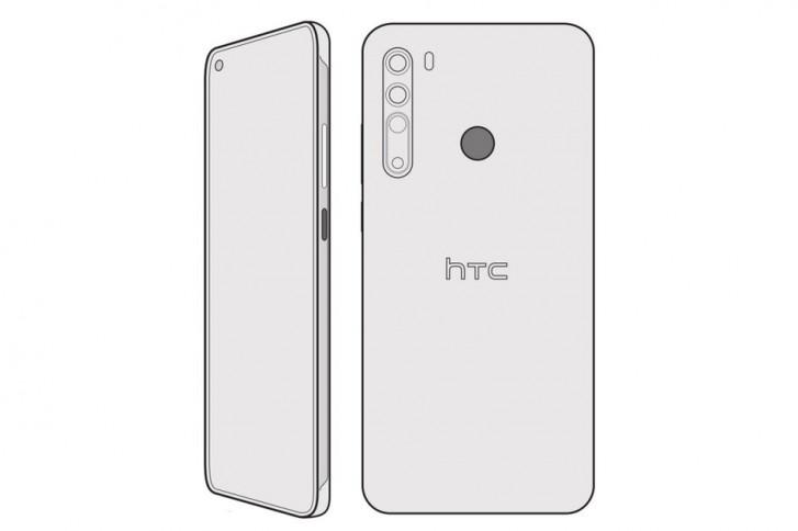 تصميم مشاع سابقًا لـ HTC Desire 20 Pro