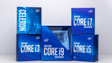 إنتل تبدأ في بيع الإصدارات الجديدة من الجيل العاشر من معالجات أجهزة الحاسب المكتبي
