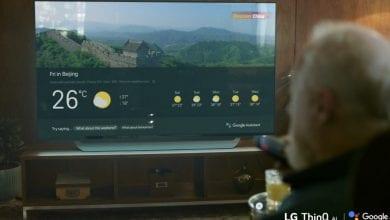 صورة مساعد جوجل يصل إلى أجهزة LG ThinQ