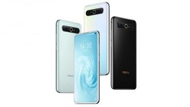 صورة Meizu تعلن عن سلسلة هواتف Meizu 17 بكاميرة رباعية ومعالج Snapdragon 865