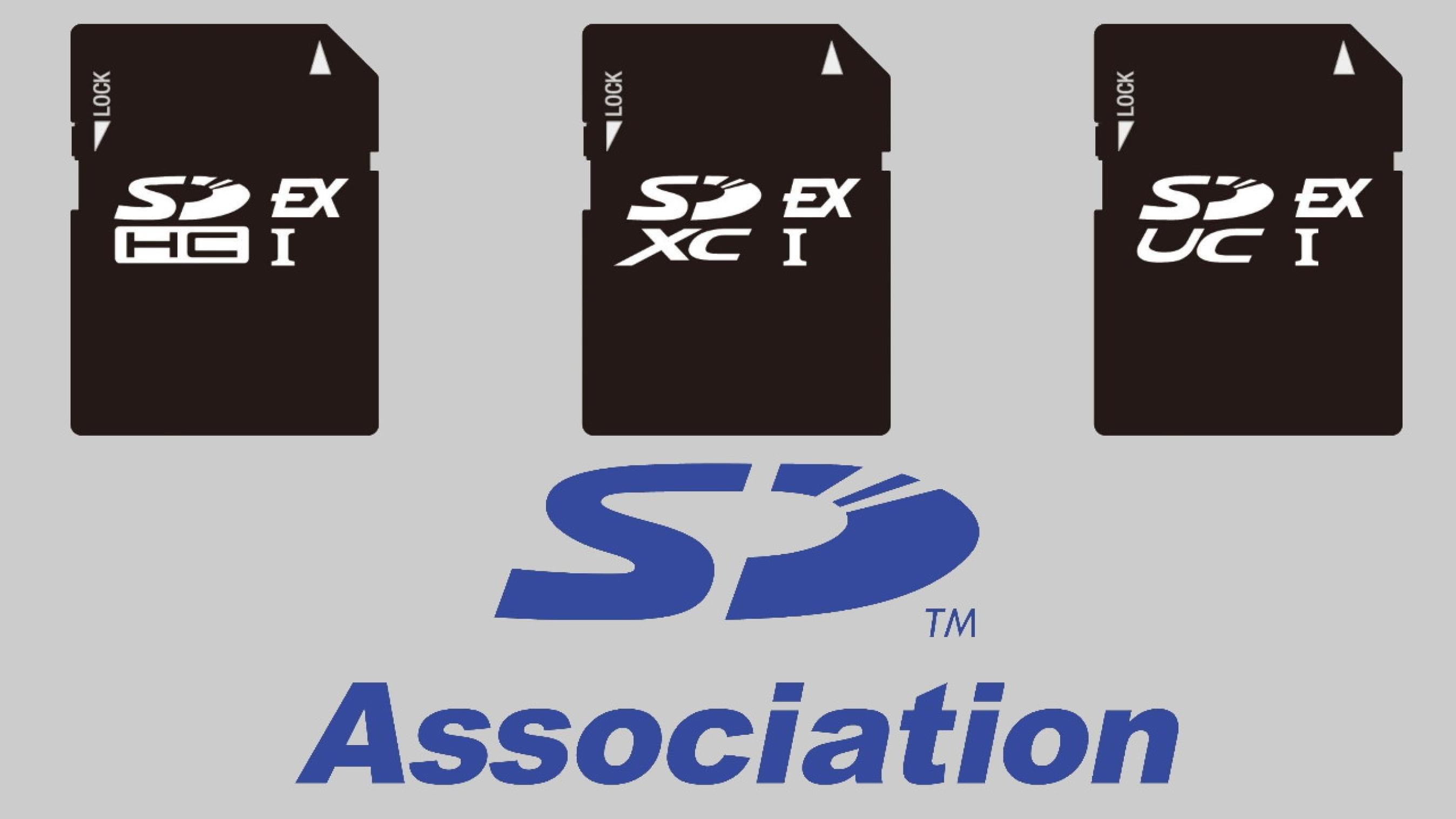 SD Association تعلن عن مواصفات المعايير الجديدة لبطاقة الذاكرة SD Express