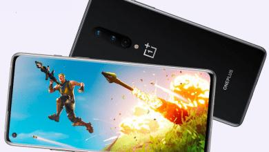صورة هواتف OnePlus 8 تدعم الآن تشغيل لعبة Fortnite عند 90 إطار لكل ثانية