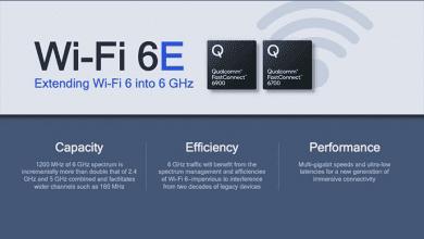 كوالكوم تقدم شرائح FastConnect بميزة دعم Wi-Fi 6E وBT5.2 مع أعلى جودة في الصوتيات