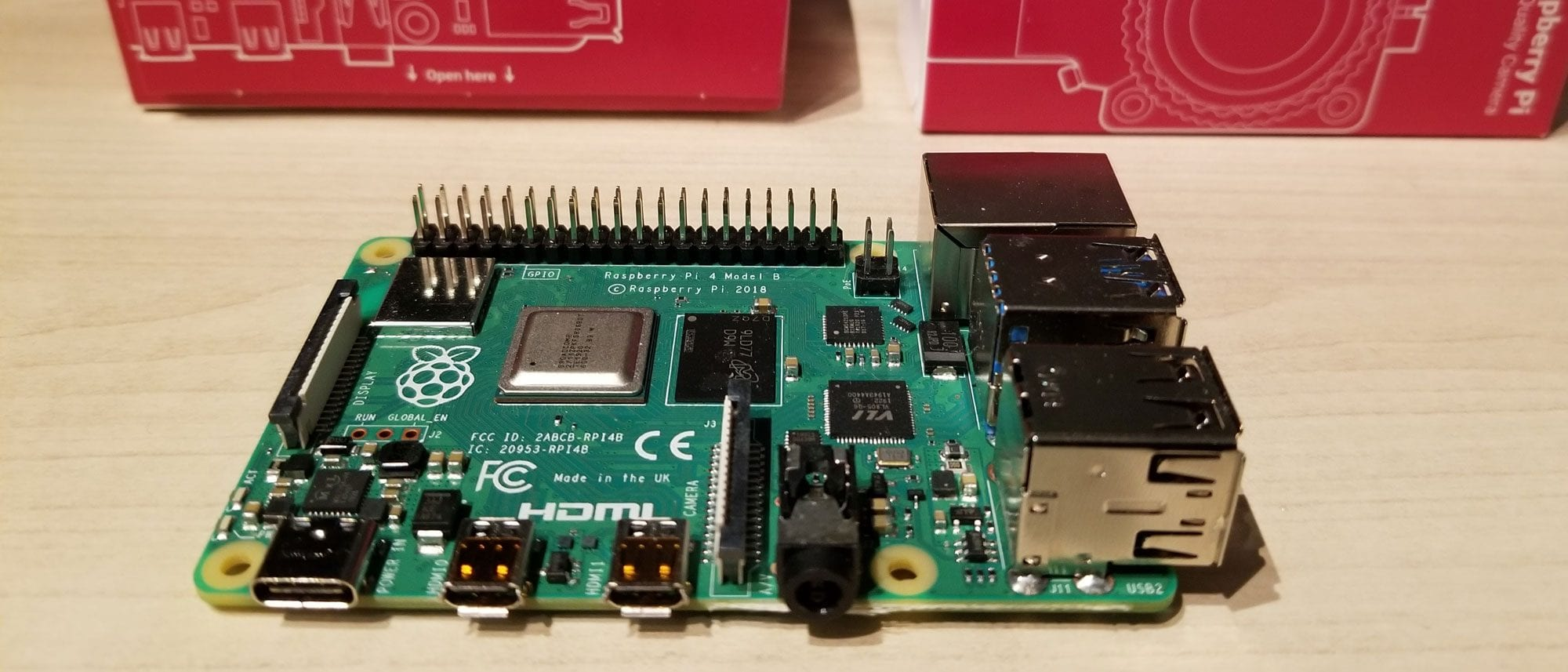 Raspberry Pi تطلق إصدار جديد من Raspberry Pi 4 بذاكرة تصل إلى 8 جيجابايت رام