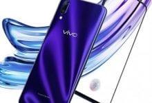 صورة إعلان تشويقي يكشف عن مستشعر للبصمة تحت شاشة هاتف Vivo X23