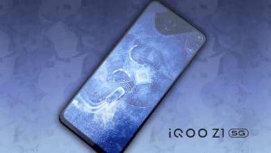 صورة iQOO Z1 أول هاتف ينطلق قريباً برقاقة معالج Dimensity 1000 Plus