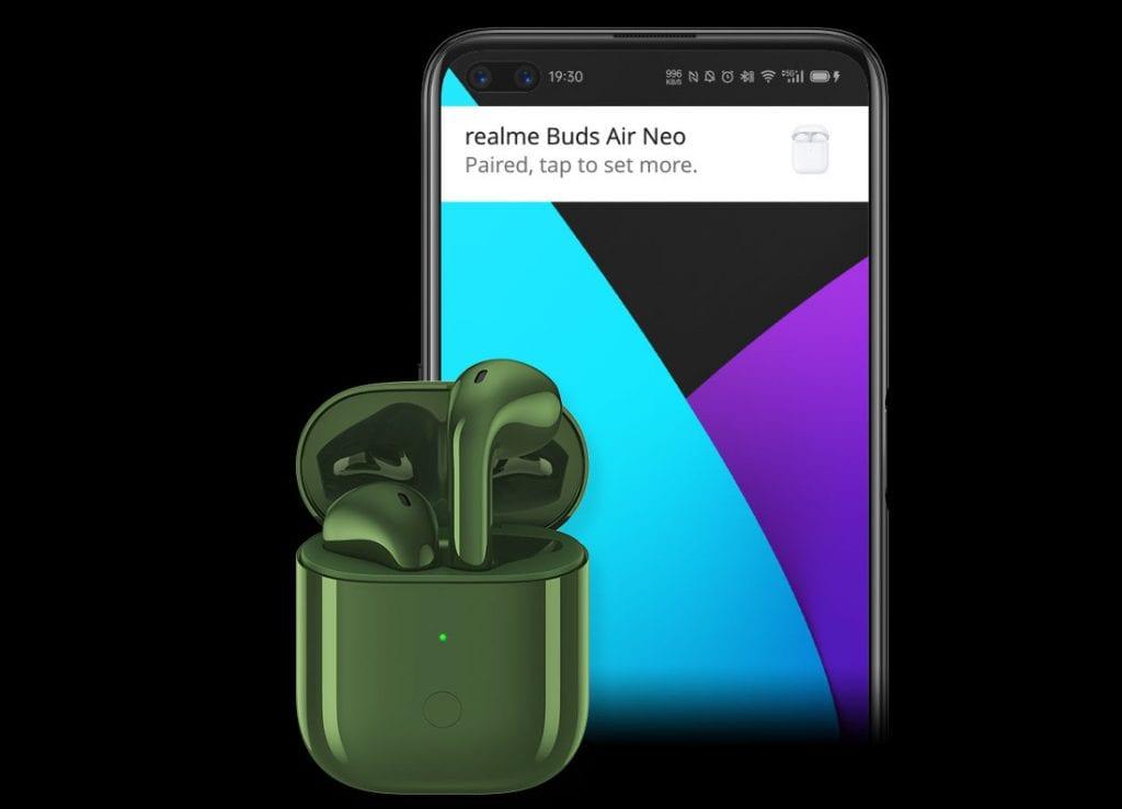 Realme تكشف عن ساعة جديدة وسماعات Buds Air Neo اللاسلكية