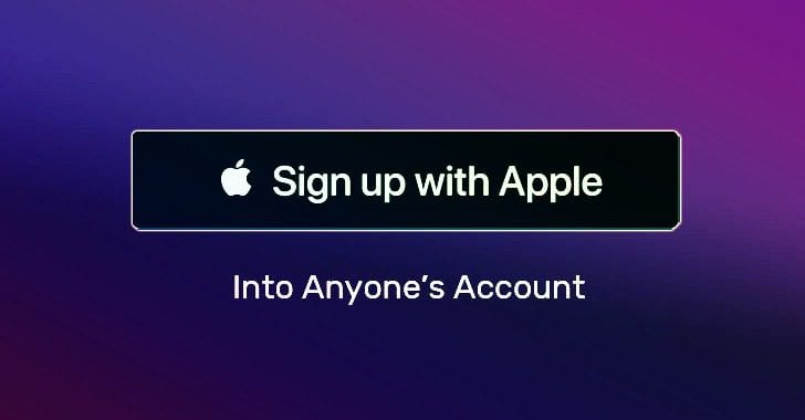 Photo of ثغرة أمنية تتيح للمتسللين السطيرة على حساب المستخدم عند التسجيل باستخدام Apple