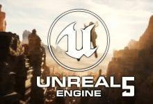 صورة الإعلان الرسمي عن محرك الألعاب Unreal Engine 5 بميزات هندسية وإضاءة جديدة قادم في 2021