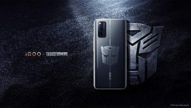 صورة الإعلان عن إصدار iQOO 3 5G Transformers Limited Edition