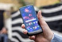 صورة إشاعة جديدة تقترح قدوم الهاتف Motorola Razr 2020 مع شاشة أكبر