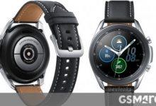صورة إليك أفضل نظرة حتى الآن على Samsung Galaxy Watch3