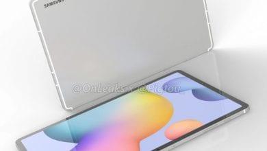 صورة الجهاز اللوحي +Galaxy Tab S7 سيصل مع بطارية ضخمة بسعة 10000mAh