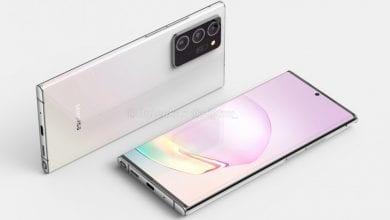 صورة الهاتف +Galaxy Note 20 سيصل مع شاشة أطول، والإختبارات تؤكد ذلك