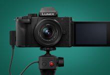 صورة باناسونيك G100 هي كاميرا مدونات صغيرة مع حيلة صوتية ذكية للغاية