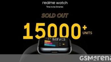 صورة تحرك Realme Watch أكثر من 15000 وحدة خلال دقيقتين في أول عملية بيع