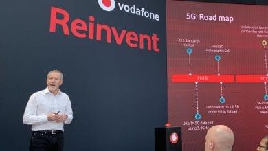 صورة تقول فودافون إن المملكة المتحدة ستتراجع في 5G إذا تم حظر معدات Huawei