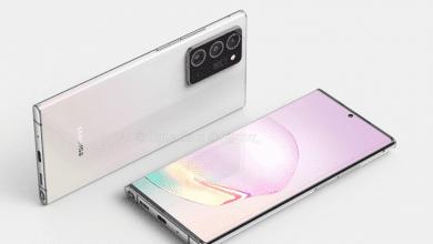 صورة سامسونج تدعم Galaxy Note20 Plus بمستشعر بدقة 108 ميجا بيكسل وتكبير حتى 50 مرة