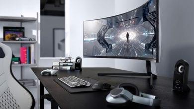صورة سامسونج تُطلق شاشتها المُقوسة الموجهة للاعبين Samsung Odyssey G7 على الصعيد العالمي