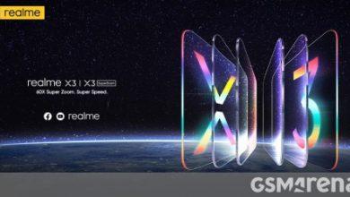 صورة شاهد إعلان Realme X3 مباشرةً هنا