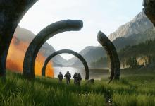 """Photo of صفحة Halo تشوق اللاعبين بمقطع قصير و يظهر به صوت """"Atriox""""!"""