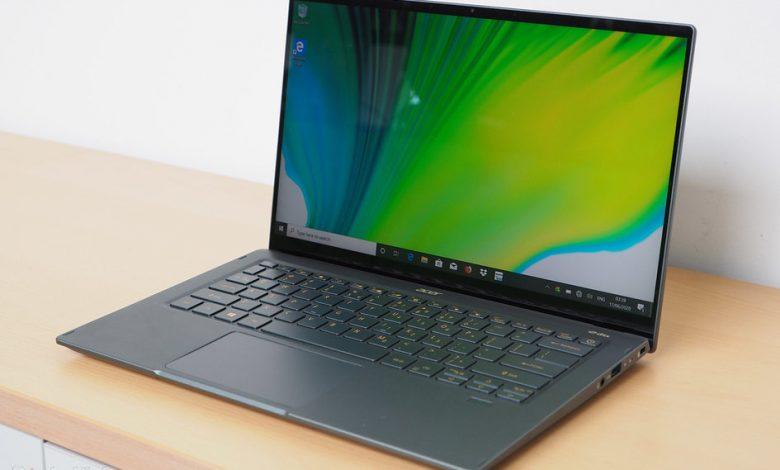 صورة مراجعة أولية لـ Acer Swift 5 (2020): عودة القائد خفيف الوزن