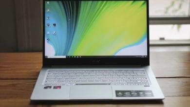 صورة مراجعة Acer Swift 3 (2020): جهاز كمبيوتر محمول Ryzen ثماني النواة مقابل 650 دولارًا