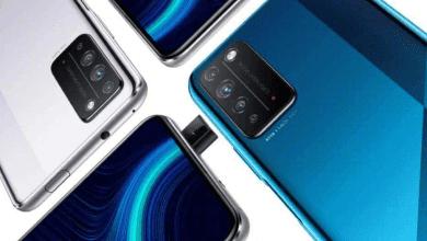 صورة هاتف HONOR X10 MAX يأتي قريباً برقاقة معالج DIMENSITY 800
