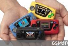 صورة أعلنت SEGA عن أربع وحدات تحكم جديدة لـ Game Gear Mini بمناسبة الذكرى الستين لتأسيسها