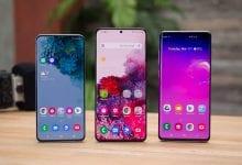 صورة مراجعة مقارنة Samsung Galaxy S20 Plus و Galaxy S10