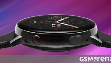 """صورة يؤكد تطبيق Samsung Wearable """"Galaxy Watch 3"""" والبراعم الجديدة على شكل حبة فول"""