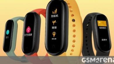 صورة أكد Xiaomi Mi Band 5 أنه يحتوي على كاميرا عن بعد ، ومدفوعات NFC ، وتتبع صحة الإناث ، وشاشة كبيرة