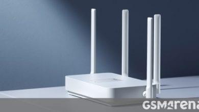 صورة تكشف شركة Xiaomi النقاب عن Redmi Router AX5 – جهاز توجيه Wi-Fi 6 مع دعم الشبكات الشبكية