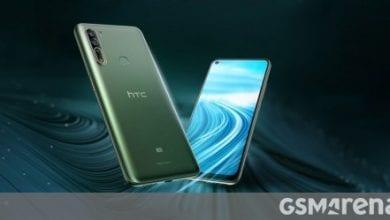 صورة كما تم الإعلان عن HTC U20 5G و Desire 20 Pro