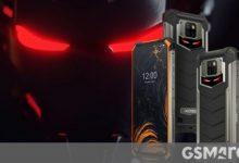 صورة يحتوي Doogee S88 Pro على بطارية 10000 mAh وإشارات تصميم Iron Man وهيكل متين
