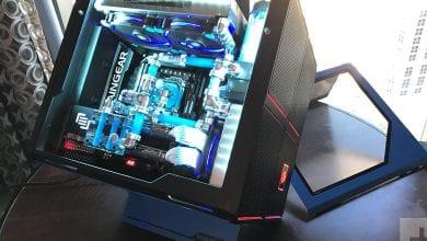 صورة مراجعة حاسوب الألعاب المكتبي Maingear F131