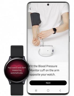 مراقبة ضغط الدم باستخدام تطبيق Samsung Health Monitor
