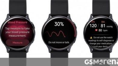 صورة تم إطلاق تطبيق Samsung Health Monitor مع مراقبة ضغط الدم