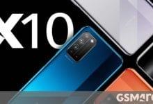 صورة الرئيس التنفيذي لشركة Honor يثير الهاتف بشاشة كبيرة ، من المحتمل أن يكون X10 Max