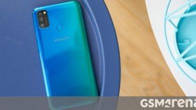 صورة تؤكد شهادة Samsung Galaxy M31s بطارية 6000 mAh