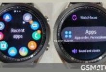 Photo of يظهر Samsung Galaxy Watch 3 في صور جديدة ، هذه المرة قيد التشغيل