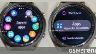 صورة يظهر Samsung Galaxy Watch 3 في صور جديدة ، هذه المرة قيد التشغيل
