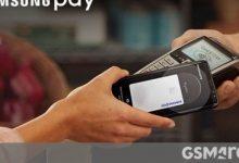 صورة تعمل Samsung Pay Card بالشراكة مع Curve